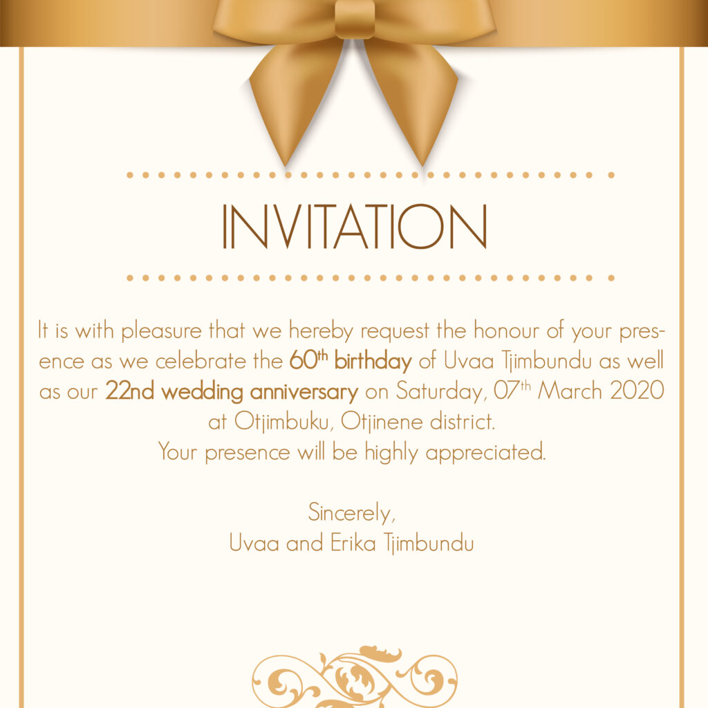 INVITATION DESIGN 1
